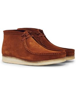 Suede Wallabee Boot Brown