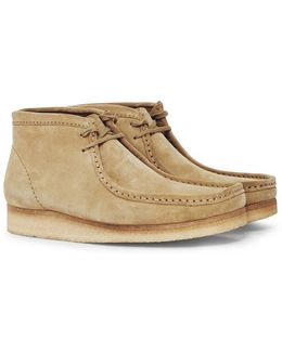 Suede Wallabee Boot Tan