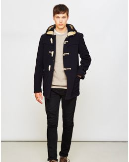 Mid Monty Coat Navy