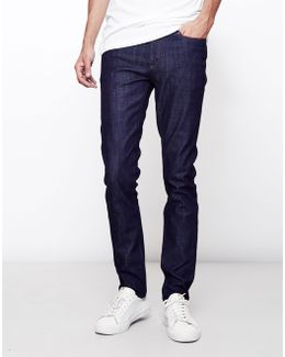 Alva Slim 11oz Un-washed Jeans