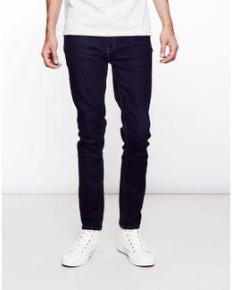Drake Soft Stretch Rinse Jeans Navy