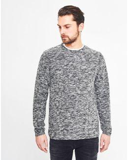 Amborg Crew Neck Sweatshirt Black