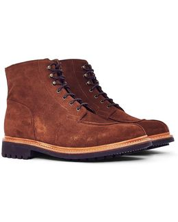 Grover Suede Boot Brown