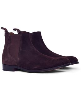 Declan Suede Chelsea Boot Brown