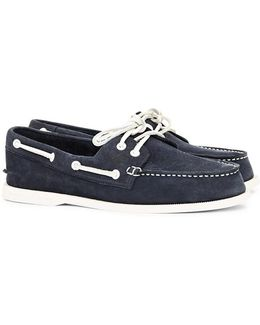 Top-sider Washable Leather Boat Shoe Navy