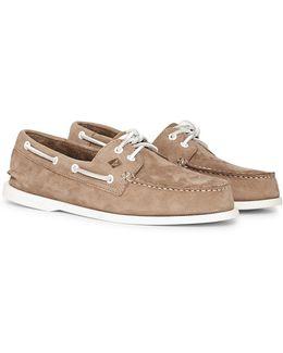 Top-sider Washable Nubuck Boat Shoe Grey