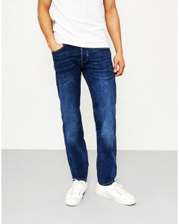 Ed-80, Slim Tapered, Cs Red Listed Selvage Jeans, Lido Wash