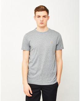 Denny Marl Short Sleeve T-shirt Grey