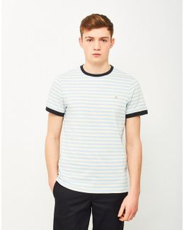 Alley Short Sleeve T-shirt Light Blue