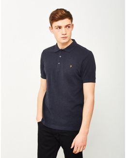 Blaney Short Sleeve Polo Navy