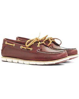 Tidelands Boat Shoe Brown