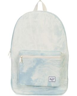 Packable Daypack Cotton Casual Bleached Blue