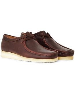 Clarks Casual Wallabee Leather Brown
