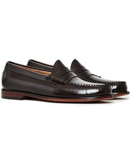 Larson Penny Loafer Dark Brown