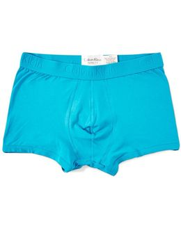 Underwear Infinite Cotton Trunk Blue
