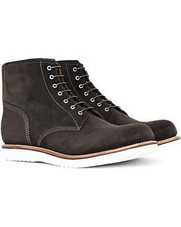 Dawson Lavagne Suede Derby Boot Grey