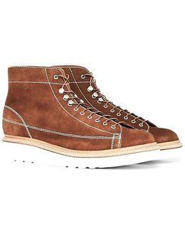 Andy Suede Monkey Boot Brown