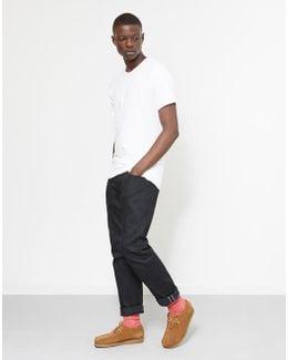 2p Crew Neck T-shirt Black/white
