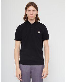 Made In England The Original Polo Shirt Black
