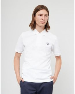 Made In England The Original Polo Shirt White