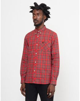 Reissue Long Sleeved Tartan Cotton Shirt
