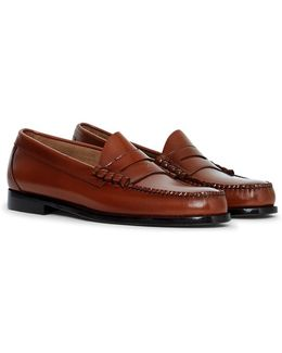 Weejun Larson Moc Penny Loafer Brown