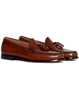 Weejuns Larkin Tassle Loafers Tan