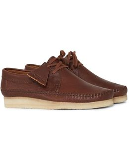 Leather Weaver Brown