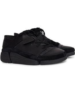 Leather Trigenic Evo Trainers Black
