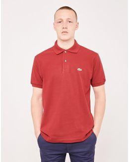 L.12.12 Polo Shirt Burgundy