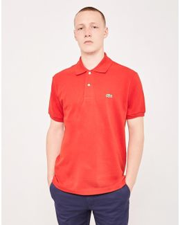 L.12.12 Polo Shirt Red