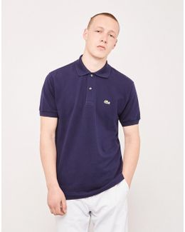 L.12.12 Polo Shirt Navy