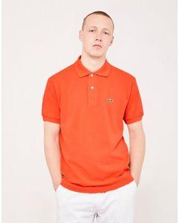 L.12.12 Polo Shirt Orange