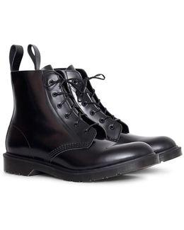 Arthur 6 Eye Boot Black