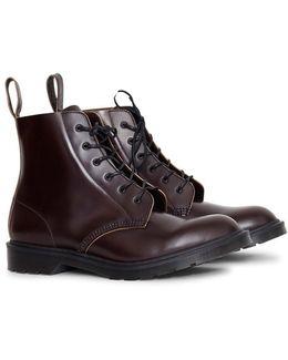 Arthur 6 Eye Boot Burgundy