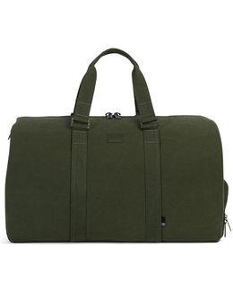 Novel Cotton Canvas Duffle Bag Green