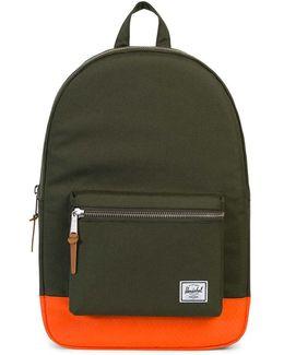 Settlement Backpack Green & Orange