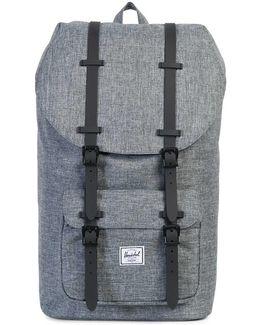 Little America Backpack In Grey 25l