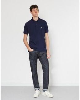Short Sleeve Polo Shirt Navy