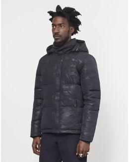 Equinox Camo Jacket Black