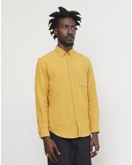 Teca Brushed Shirt Yellow
