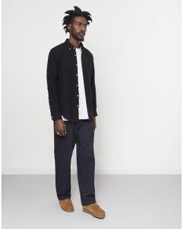 Teca Brushed Shirt Black