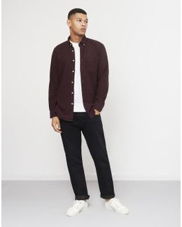 Teca Brushed Shirt Purple