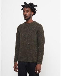 Netherby Crew Neck Jumper Green
