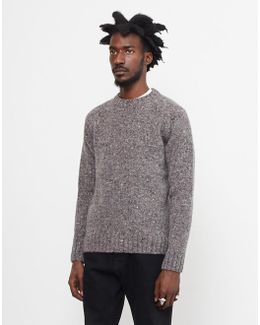 Netherby Crew Neck Jumper Grey