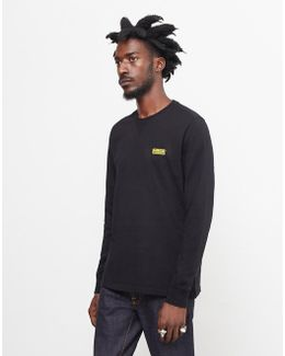 Long Sleeve Logo T-shirt Black