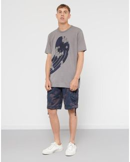 Occotis Wrapped T-shirt Grey