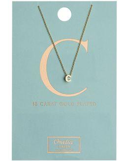 Necklace Initial C