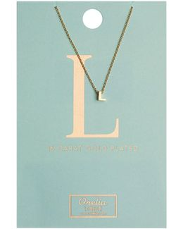 Necklace Initial L
