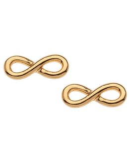 Tiny Infinity Stud Earrings